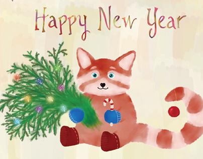 Firefox postcard