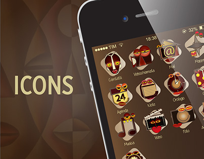 Icons - African masks
