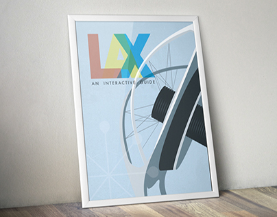 LAX Interactive Guide & Poster