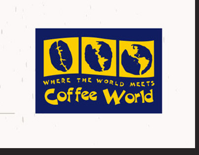 Coffee World Some print Design