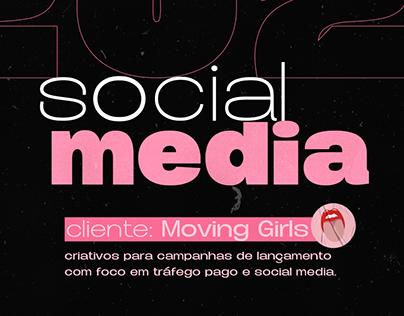 SOCIAL MEDIA DESIGN   MOVING GIRLS