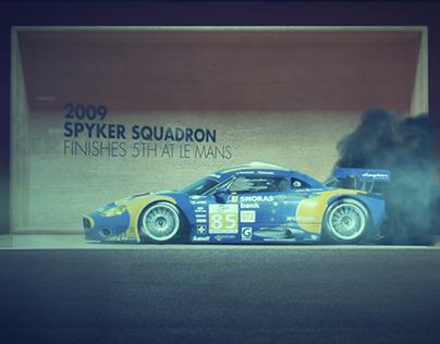 Spyker Le Mans Tribute