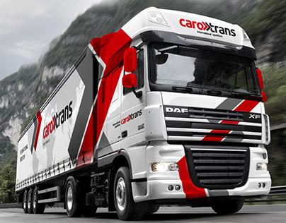 Caro Trans - Car wrapping & logo design.