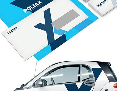 POLTAX - brand identity