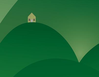 Hills & Mountains - Illustration