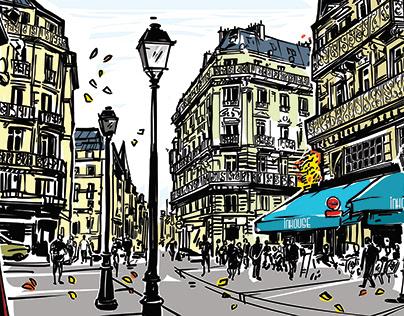 Paris (illustrations )