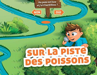 Plateau de Jeu Poissons