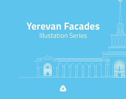 Yerevan Facades | Illustration Series