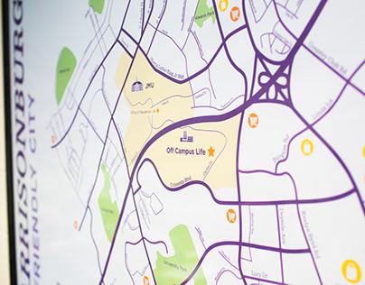 Off Campus Life Map
