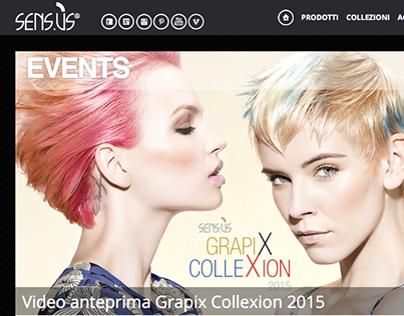 ADV GRAPIX Collection 2014 Sensu.ùS G&P Cosmetics