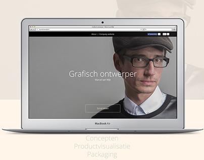 Grafisch ontwerper - Marcel van Wijk