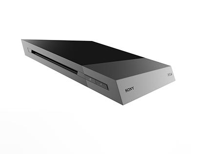 Playstation 4 Slim Concept