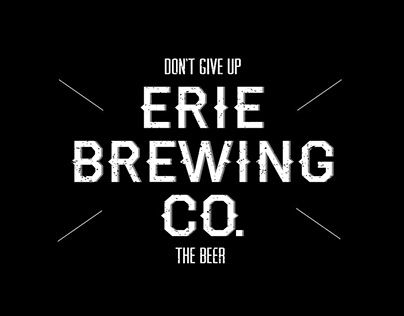 Erie Brewing Company Merch Design