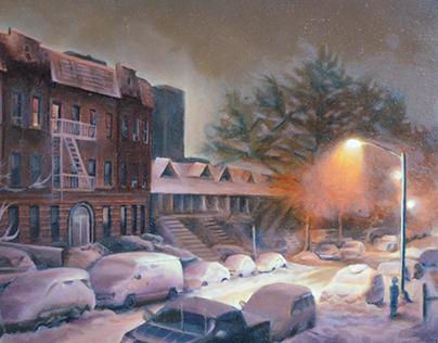Oil paintings 2014
