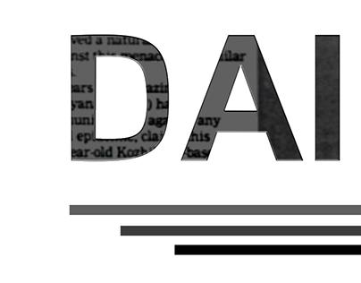 NEWS website logo design