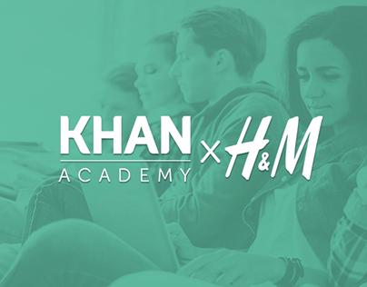 KHAN & H&M -Education for all
