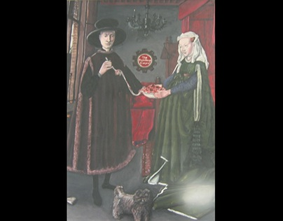 Version of Arnolfini Portrait