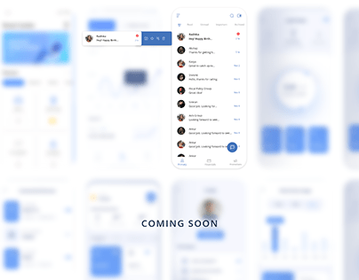 Sorted : A messaging app concept