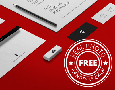 Free Real Photo Identity Mock-Up