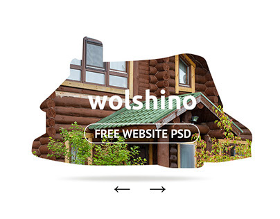 My first free website/landing page psd & mobile version