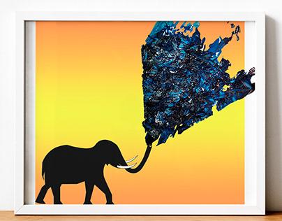Craft: Agua de elefantes