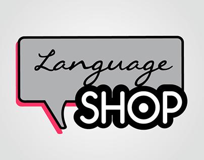 Language Shop | Logo, Identity & Web design