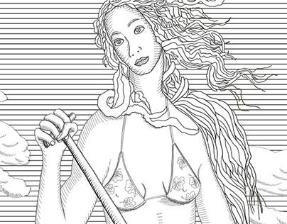 Venus on SUP