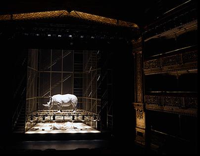 Theater. Rinoceronte. Ionesco