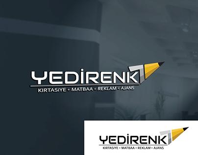 Yedirenk Kırtasiye Logo Çalışması