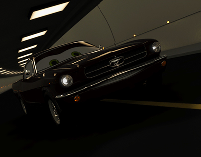 Mustang 64 - Cars style