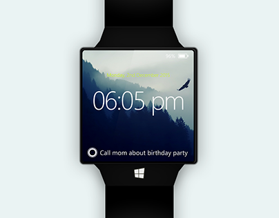 Windows Watch concept design revisited