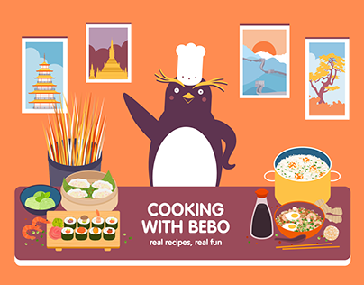 Cooking with Bebo Asia game
