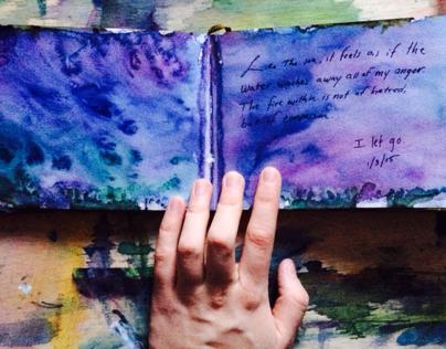 I Let Go: Zen Sketchbook Entries