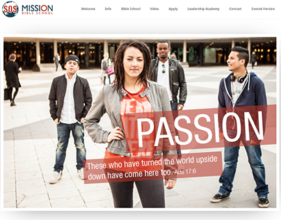 Mission SOS Bible School Website