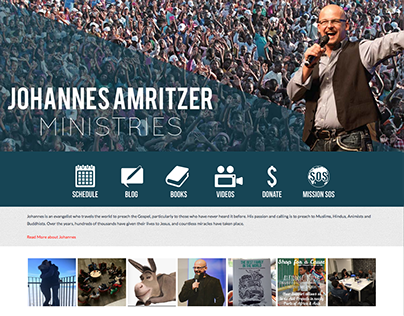 Johannes Amritzer Ministries Website