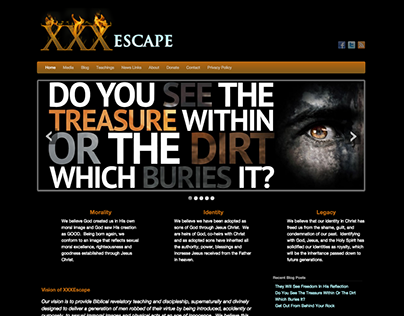 XXX Escape Website 2012
