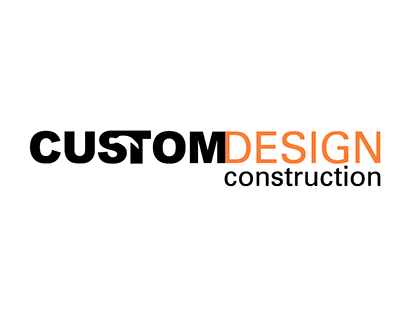 Custom Design Construction Logo