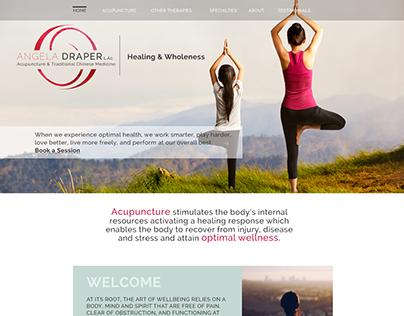 Angela Draper Acupuncture | Website Refresh