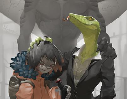 Illustration- The Strange Team