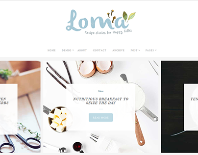 LOMA - Ultimate WP Blog Theme