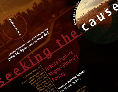 Seeking The Cause Art Exhibition