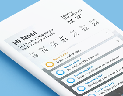 To-do app micro interactions