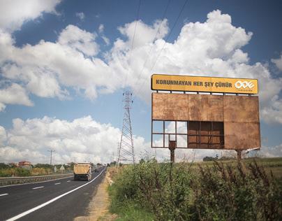 ODE Yalıtım | Çürüyen Billboard