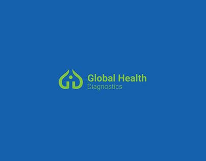 Global Diagnostics - logo and identity