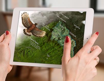 Mapa interactivo: Serranía de los Paraguas