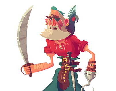 Pirates. Characters 2015