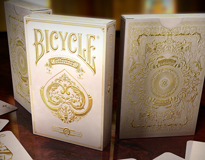 Bicycle® Collectors. Pearl White Edition