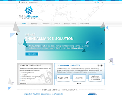 ThinkAlliance Solutions - Logo & Website