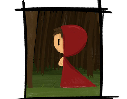 Little Red Illustration