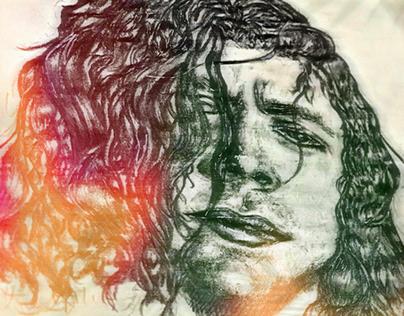Harry Styles Graphite Portrait